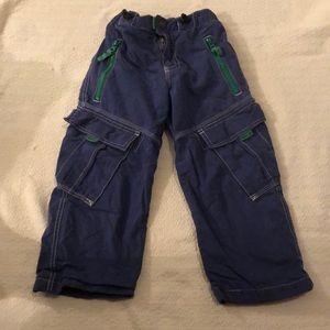 Mini Boden lined boys pants